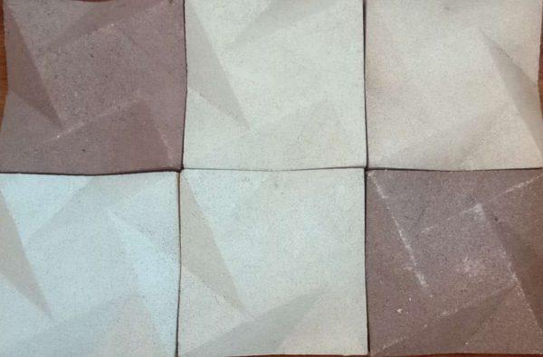 Mozaik Dinding Natural Bintang Mix