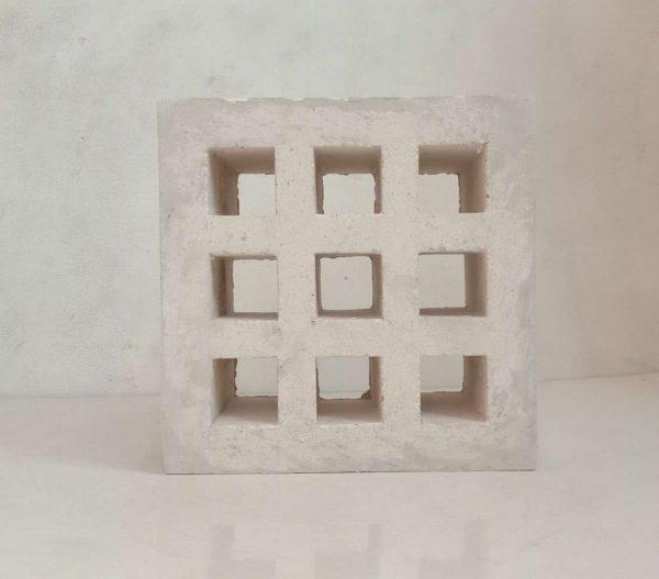 Roster Putih Kotak 9 Rata